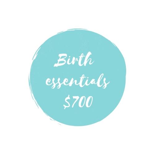 Birth Essentials $700